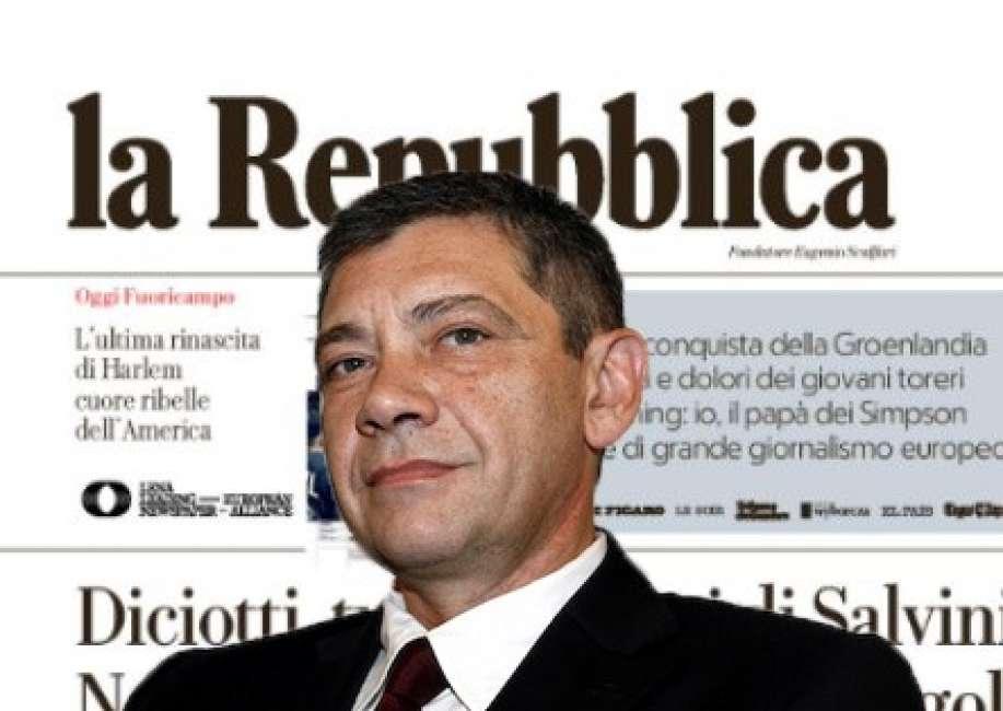 Carlo Verdelli per 14 mesi direttore de la Repubblica