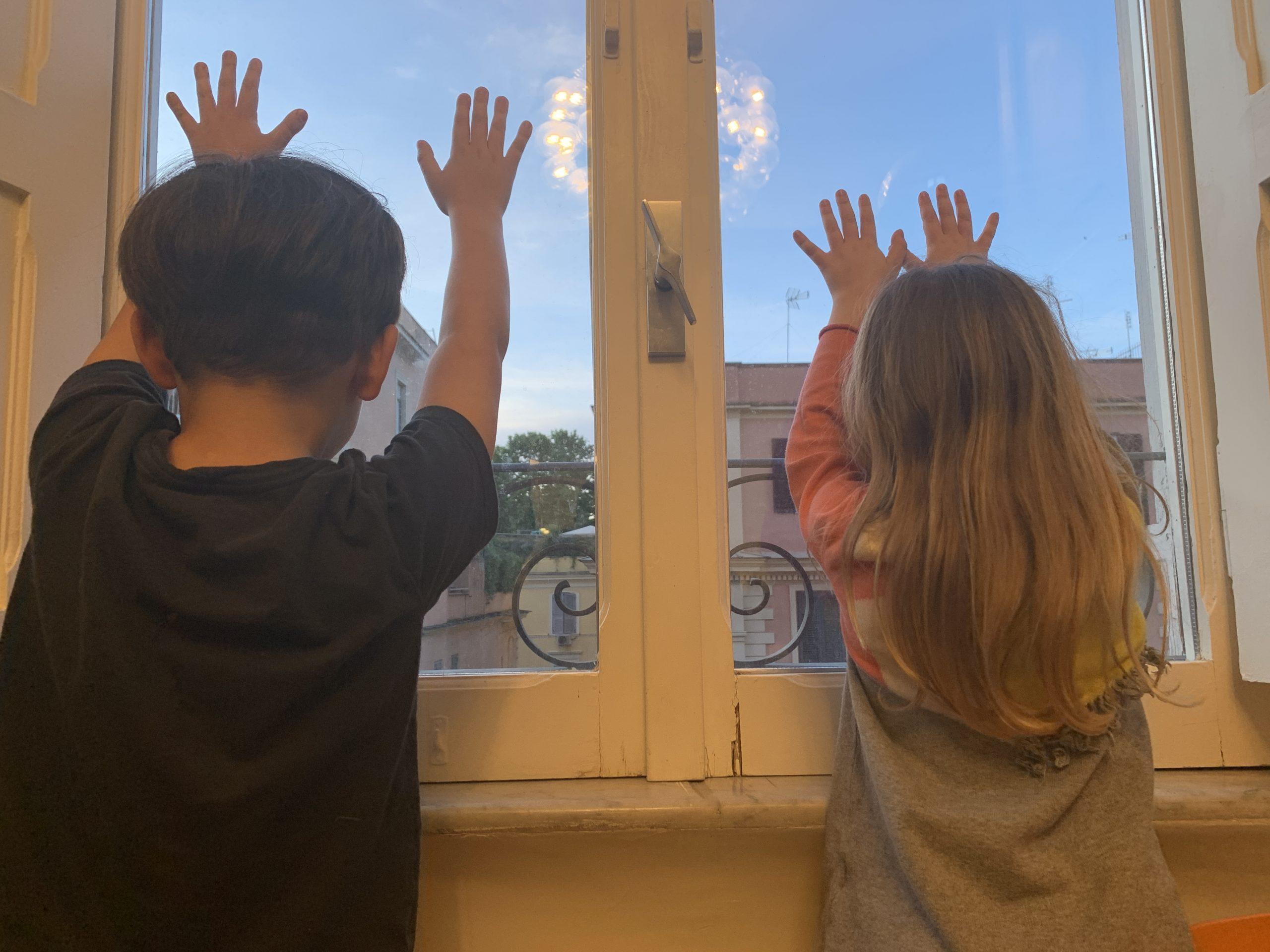 Bambini in lockdown