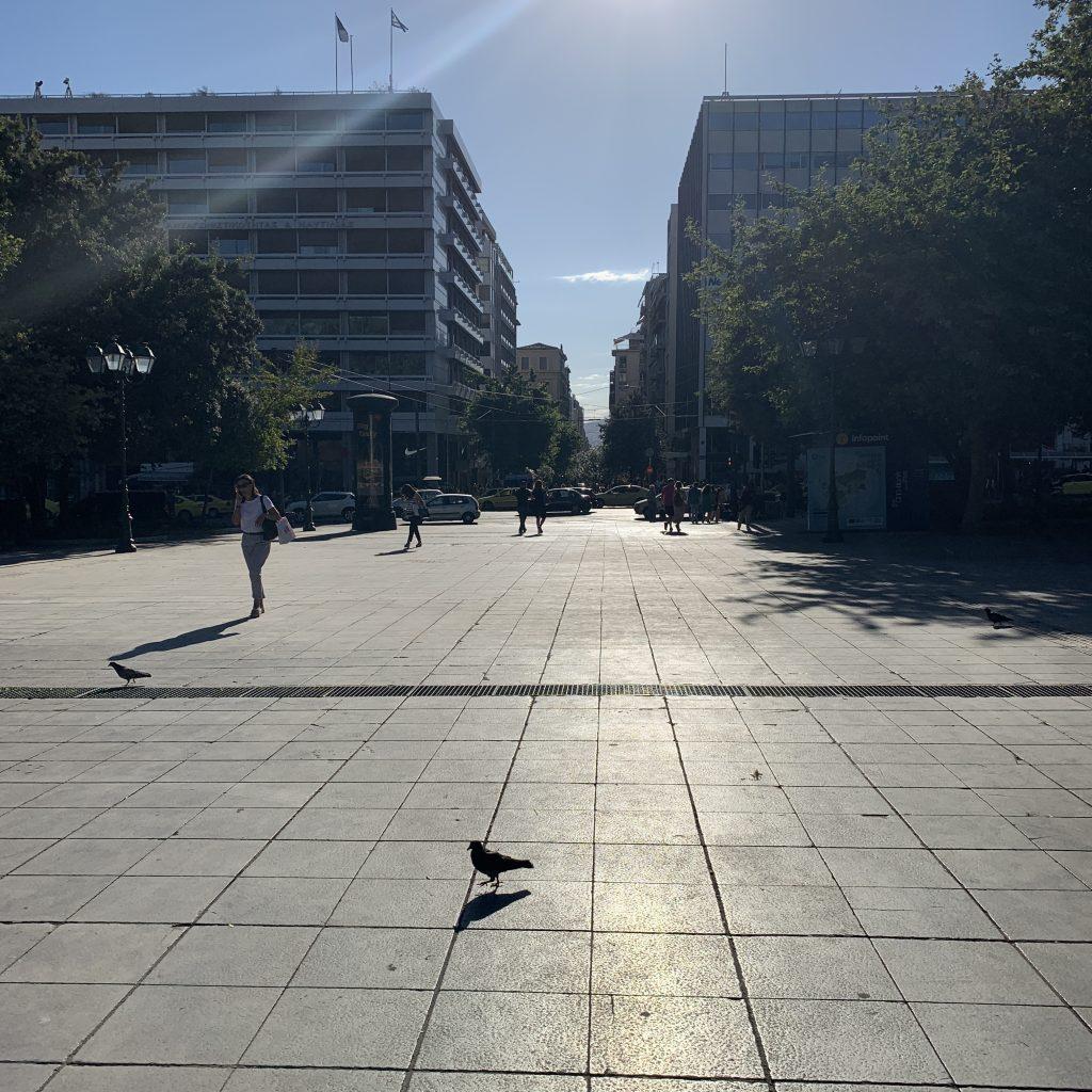Grecia, Atene, piazza Sintagma