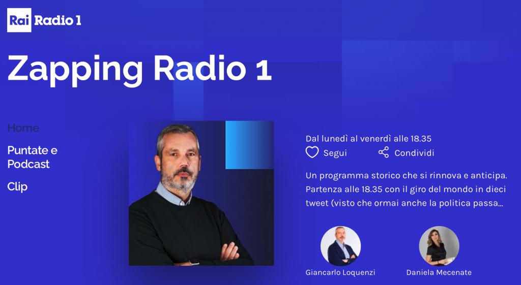 Zapping Radio Uno